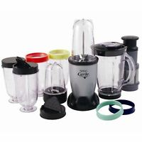 Hinari MB280 The Genie Smoothie Maker Multi-Attachment Blender Juicer 1 L, 15pc