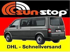 SunStop Autofolie XXL Tönungsfolie grau für Lieferwagen / BUS 76x750cm mit ABG