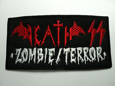 DEATH SS   EMBROIDERED  PATCH