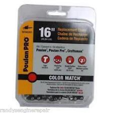 """952051211 Poulan 16"""" 91VJP CHAIN LOOP pt # 952-051211 red color match 581562201"""