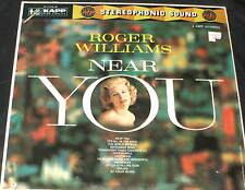 ROGER WILLIAMS Near You LP ORIGINAL 1959 KAPP RECORDS STILL SEALED cheesecake