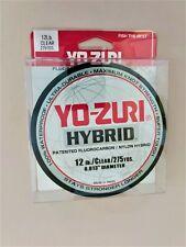 "Yo-Zuri Hybrid Monofilament Fishing Line R517-Cl, Clear, 12 lb. 25 yd. .013"" dia"