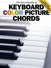 The Encyclopedia of Keyboard Color Picture Chords Music Sales America