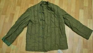 New Russian Soviet Army Soldier Telogreika Padded Winter Jacket USSR size 2