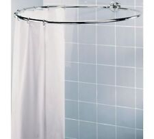 NEW Circular Shower Rail Plated Shower Rail Is Light Yet Sturdy A Chrome Plated