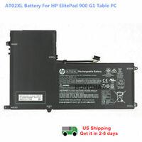 Original AT02XL Battery for HP ElitePad 900 G1 HSTNN-C75C HSTNN-DB3U 25Wh 7.4V