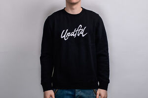 UNDEFEATED Reporter Crewneck Crew 518306-BLK black white