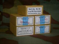 Pacchetto scatola VUOTO munizioni Mauser kar 98k, WW2 German ammo package box