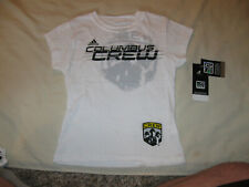 Columbus Crew T Shirt New W/Tags Youth Girls Large 14 Adidas MLS Soccer COL