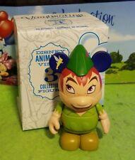 "Disney Park Vinylmation 3"" Set 1 Animation Peter Pan with Box"