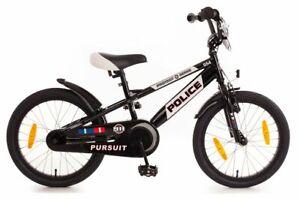 18 Zoll Fahrrad Kinder Jungen Kinderfahrrad Polizei Police Fahrrad Rad Bike