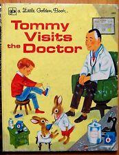A Little Golden Book Tommy Visits the doctor  hardback 1962