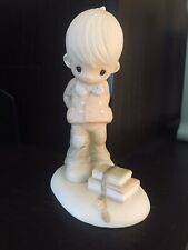 """Vintage 1979 Precious Moments """" It's what's inside that counts """" Figurine"""