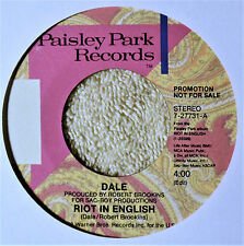 """Dale Riot in English 7"""" 45 Dance New Wave Pop Female Vocal NM Missing Persons"""