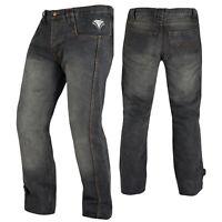 Pantalon Jeans Denim Renforts Protections CE Coton 100% Homme Sport Noir