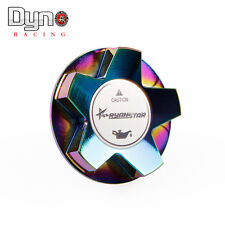 Dyno Ryanstar Fuel Tank Cover Oil Tank Cap Cover For Honda Civic Acura NeoChrome