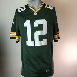 NFL NIKE  ON THE FIELD JERSEY PACKERS Aaron Rodgers Size Small #12