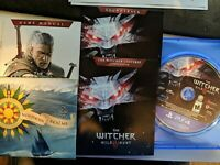 The Witcher 3: Wild Hunt w/ Bonus Content (PlayStation 4 / PS4) + Soundtrack CD