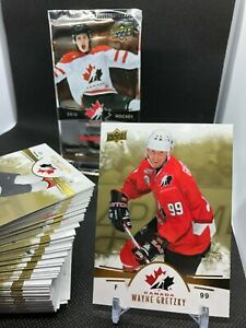 2016-17 UD Team Canada Juniors GOLD Parallels. You Pick, Complete Your Set!