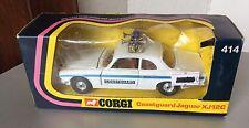 1975# RARE Corgi 414 Jaguar XJ12c Coastguard# 1:43 Scale NIB