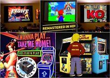 X-Arcade Tankstick TRACKBALL GOLF PINBALL Machine 5k+ Games N64 Naomi NeoGeo NES