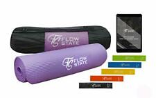 Flow State – Premium Extra Thick Yoga Mat with Resistance Bands Set and
