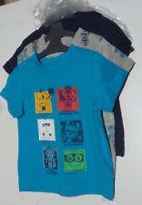 fca66aa6 MOTHERCARE BABY BOYS SUPERHERO 3 PACK T-SHIRTS SHORT SLEEVE TOP BLUE GREY 12 -