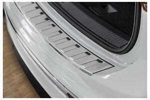 Ladekantenschutz für VW Tiguan 2 und Allspace Edelstahl Rostfrei Abkantung 2016-