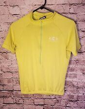 Cannondale women's cycling jersey Green short sleeve Biking HpX USA Small