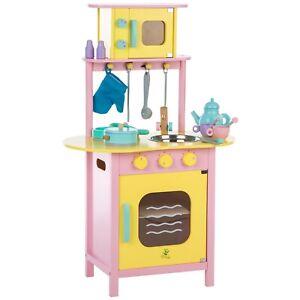 Holzspielzeug Küche Kinderküche Kinderspielzeug Backofen Küchenzeile Neu B-Ware