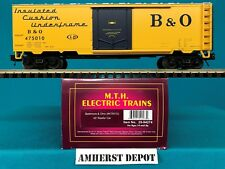20-94274 Baltimore & Ohio #457010 MTH O Scale Premier 40' Reefer Car NIB
