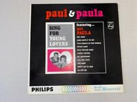 Paul and Paula Sing For Young Lovers Philips PHM200-078 Excellent Mono 1963