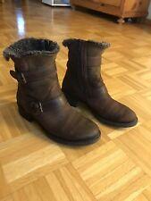 Paul Green Damen Stiefeletten 39 6 Lammfell gefüttert warm Boots Winterschuhe