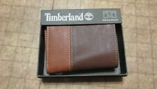 Timberland Wallet Brown Tan trifold free shipping new