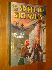 THE SECRET OF GREY WALLS - Malcolm Saville - Girls Gone By GGB LP4 - 2007 PB