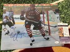 EVGENY KUZNETSOV Signed 11x14 Winter Classic Photo. JSA Certified
