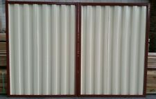 Double Colourbond Gates MADE TO ORDER