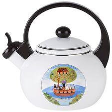 Villeroy Boch Design Naif Tea Kettle Whistling New