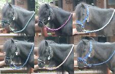 MINISHETTY Reithalfter +ZÜGEL Sidepull Mini Shetland Pony HOLZPFERD Mini Shetty