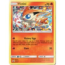 Victini SM225 Holo Pokemon Promo Card (Sun & Moon 12 Cosmic Eclipse) PREORDER
