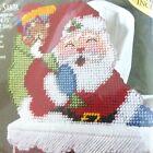 Bucilla Santa Plastic Canvas Tissue Box Cover #61251 Sealed