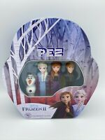 PEZ Limited Edition Frozen 2 Gift Set Collectors Tin Olaf Anna Elsa Kristoff New