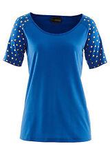 Kurzarm Damenblusen, - Tops & -Shirts aus Jersey