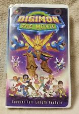 DIGIMON Digital Monsters THE MOVIE Anime Vhs Video Tape 2000 Toei Animation VGC