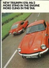 Brochures GT Car Manuals and Literature