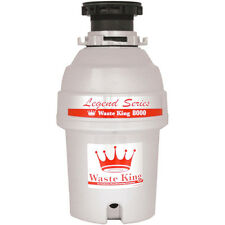 Waste King 1.0 HP Legend Series Garbage Disposer / 2800 RPM / EZ Mount | L-8000