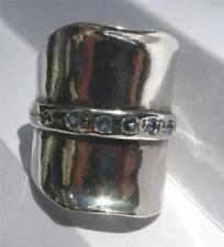 Topaz Silver Plated Handcrafted Rings