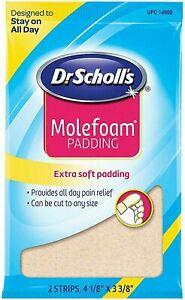 Dr. Scholls Molefoam Padding - 2 Strips