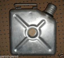 Flache Kanister Wasserkanister Benzinkanister, Aluminium 3L, ideal für Oldtimer