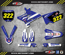 Yamaha YZ 125 250 / 2006 - 2007 Decal Kit UFO RE-STYLIZED PREMIERE style